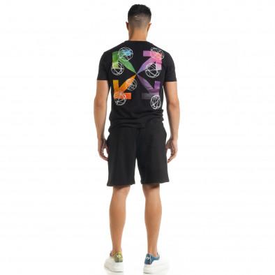 Черен мъжки спортен комплект North's tr080520-64 4