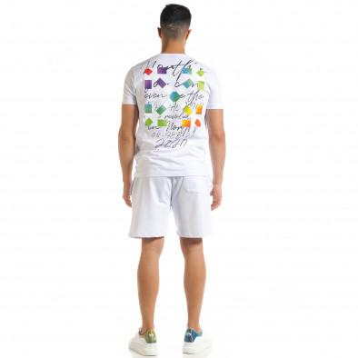 Бял мъжки спортен комплект 2020 tr080520-66 4