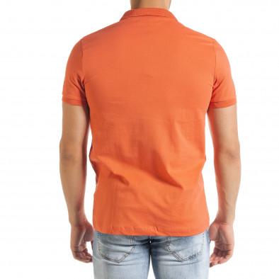 Basic polo мъжка тениска в оранжево tr080520-54 3