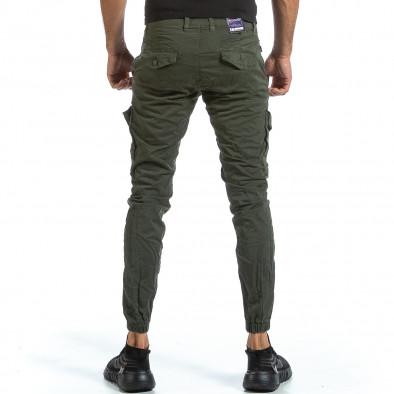 Мъжки зелен Cargo Jogger с шев на крачола tr070921-13 3