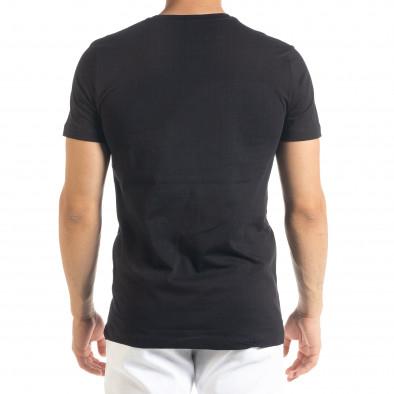 Черна мъжка тениска Things tr080520-45 3