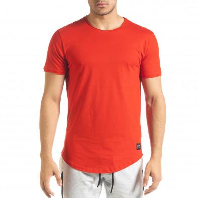 Basic мъжка тениска в червено tr080520-39 2