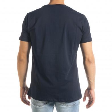 Basic мъжка тениска Freefly в синьо tr240420-10 3