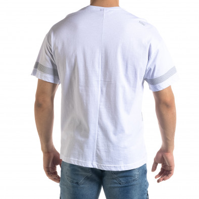 Мъжка тениска в бяло The Star Oversize  tr110320-13 3