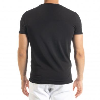 Черна мъжка тениска You Can tr080520-28 3