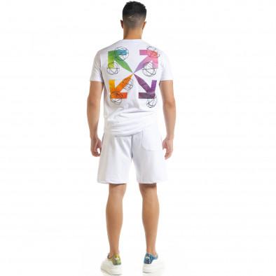 Бял мъжки спортен комплект North's tr080520-63 4