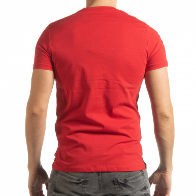 Мъжка червено-черна тениска New York tsf190219-51 3