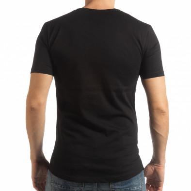 Мъжка тениска в черно To-Go tsf190219-24 3