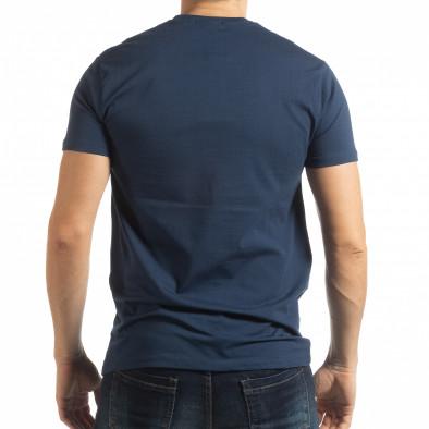 Синя мъжка тениска Originals tsf190219-80 3