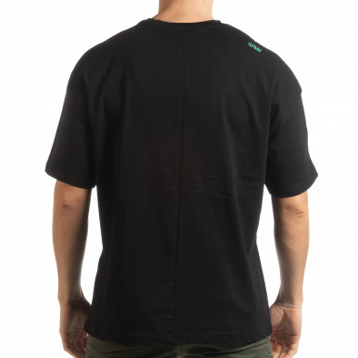 Черна мъжка тениска Imagination tsf190219-32 3
