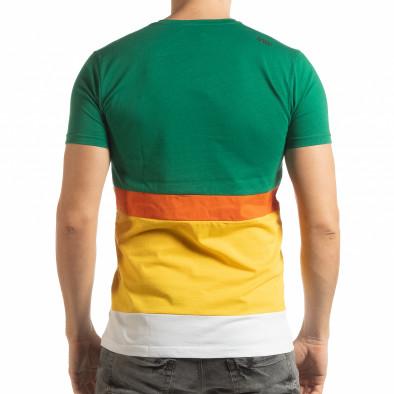 Колоритна мъжка тениска tsf190219-40 3