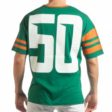 Зелена мъжка тениска The Wave tsf190219-38 3