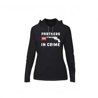 Дамски суичър Partners in Crime, размер S TMNCPF081S 2