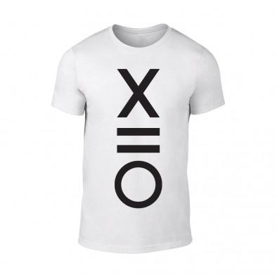 Мъжка бяла тениска XO TMN-M-083 2