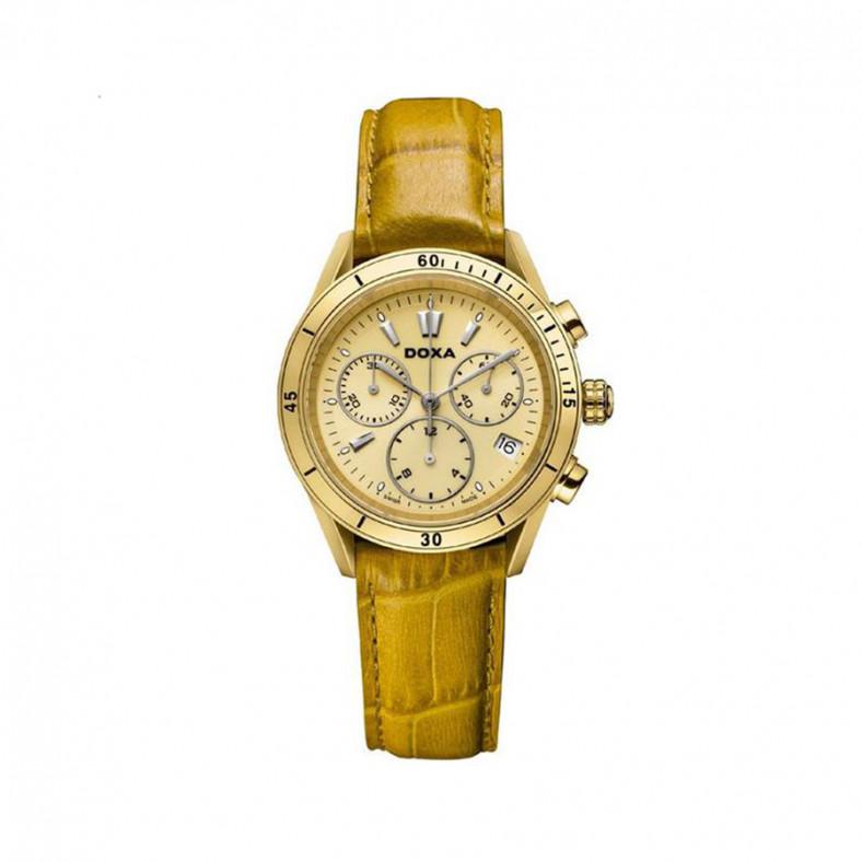 Trofeo Gold Dial Ladies Watch