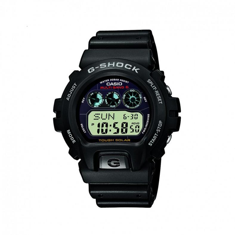 Мъжки спортен часовник Casio G-SHOCK черен с тъмно син дисплей