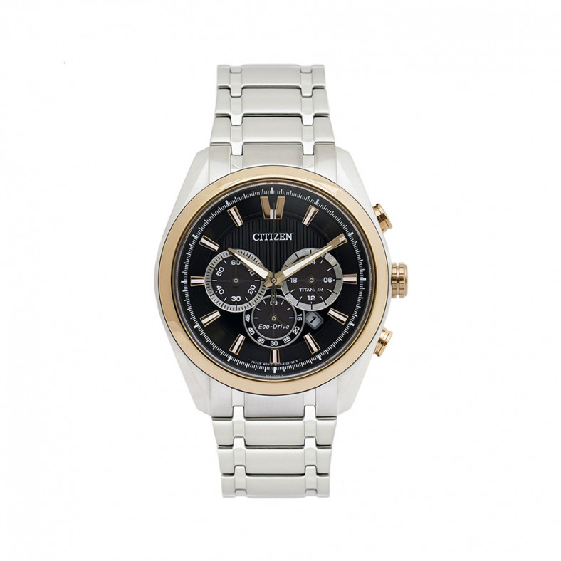 Eco-Drive Titanium Super Titanium Chronograph Men's Watch CA4014-57E