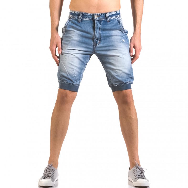 Мъжки къси дънки тип потури Always Jeans 5