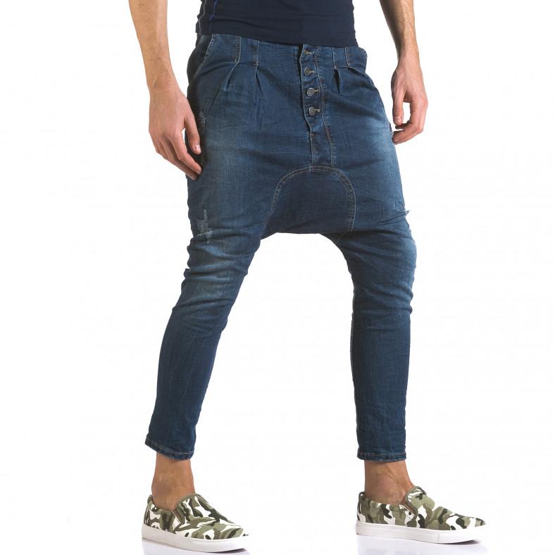 Мъжки дънки със смъкнато дъно и скъсвания Always Jeans 5