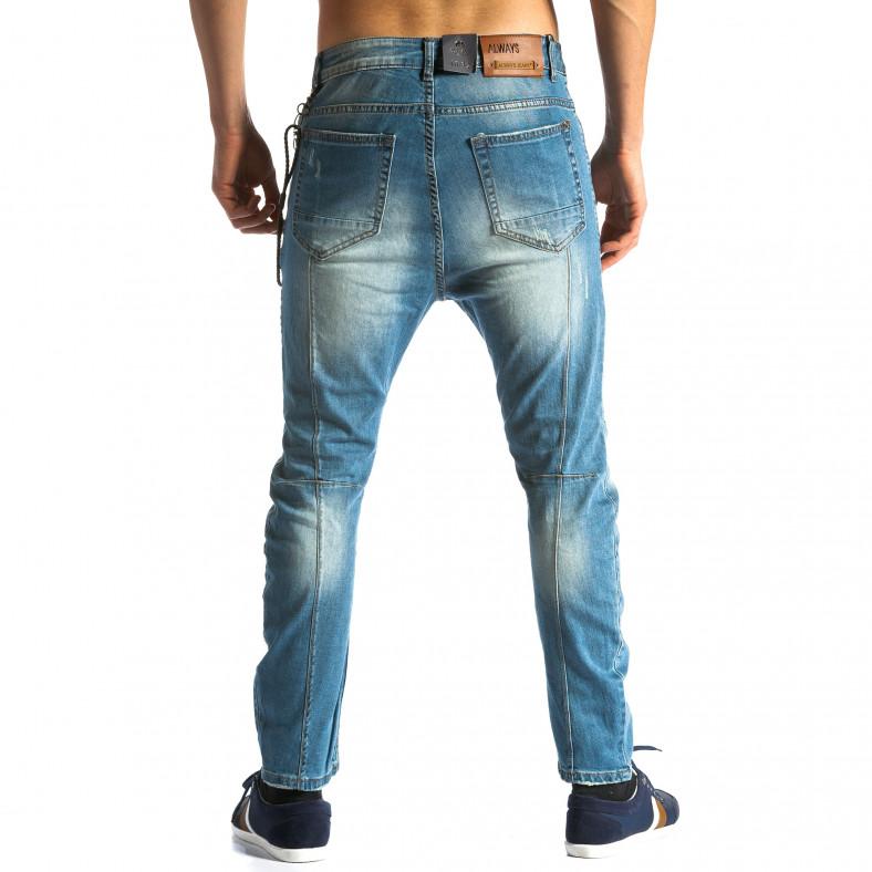 Мъжки дънки със звезди Always Jeans 4