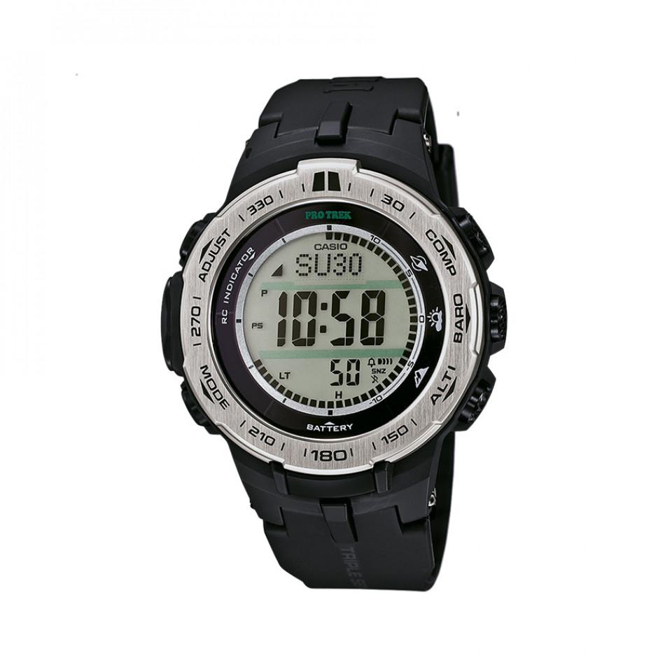 Мъжки часовник Casio Pro Trek със сив циферблат PRW31001ER