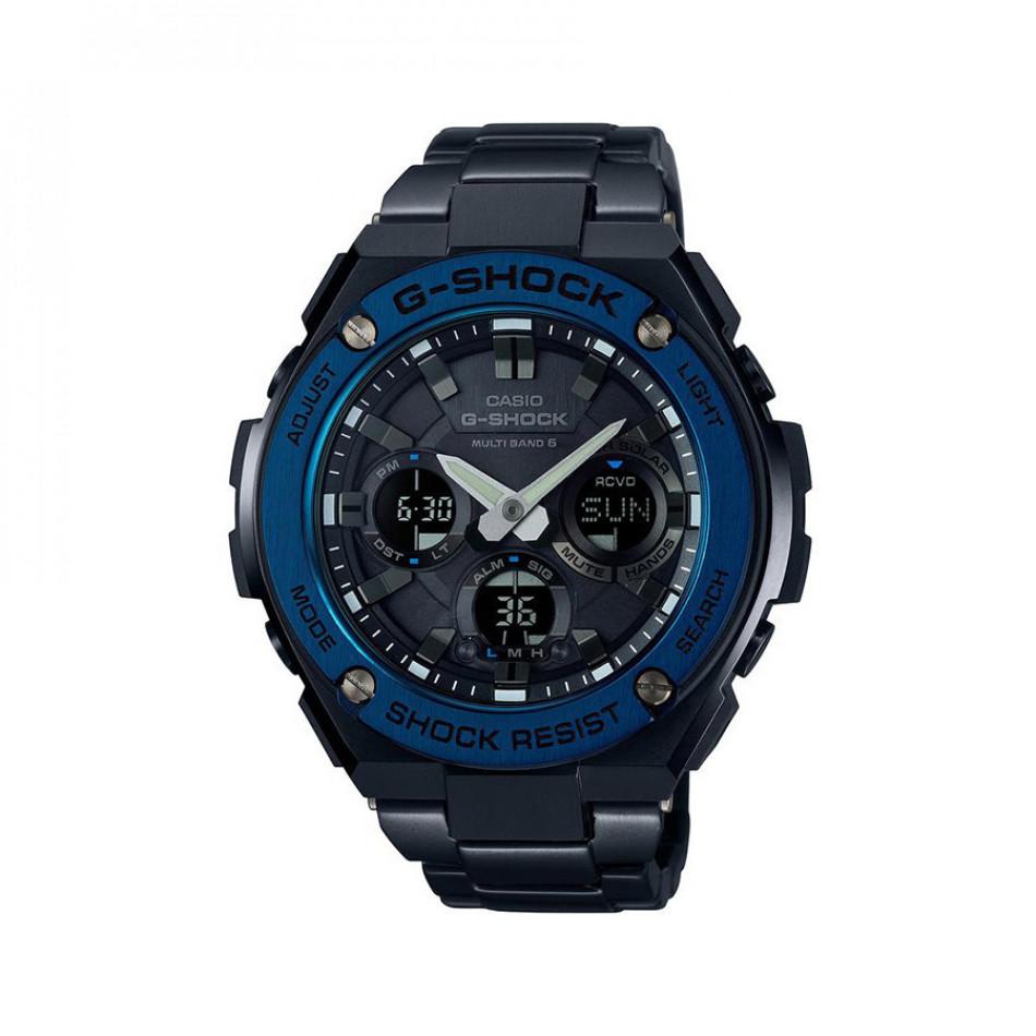 Мъжки спортен часовник Casio G-SHOCK тъмно син стоманен GSTW110BD1A2ER