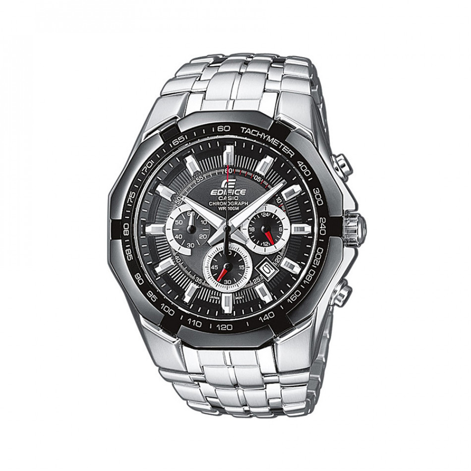 Мъжки часовник Casio Edifice сребрист браслет класически модел EF540D1AVEF