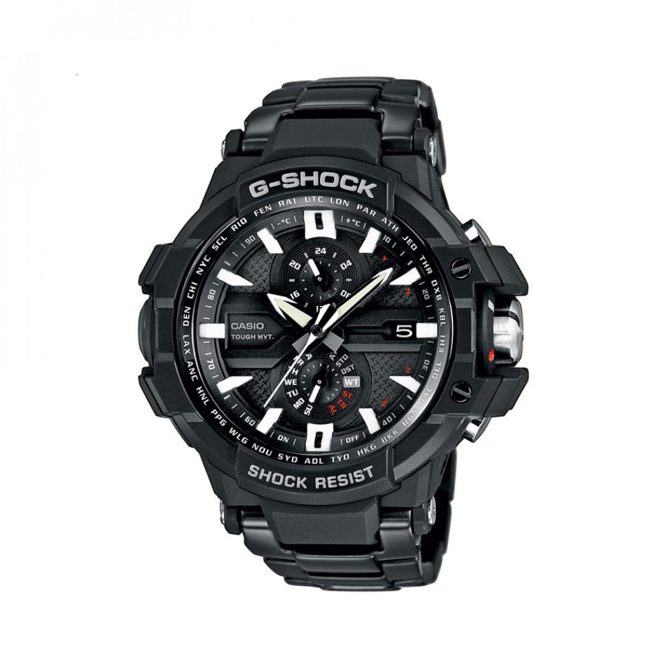 Мъжки спортен часовник Casio G-SHOCK черен класически модел GWA1000D1AER
