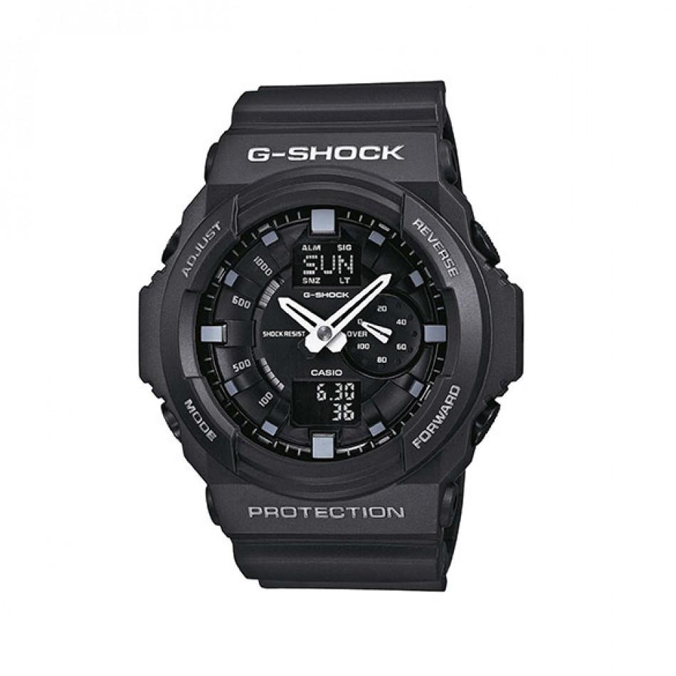 Мъжки спортен часовник Casio G-SHOCK черен с хронометър GA1501AER