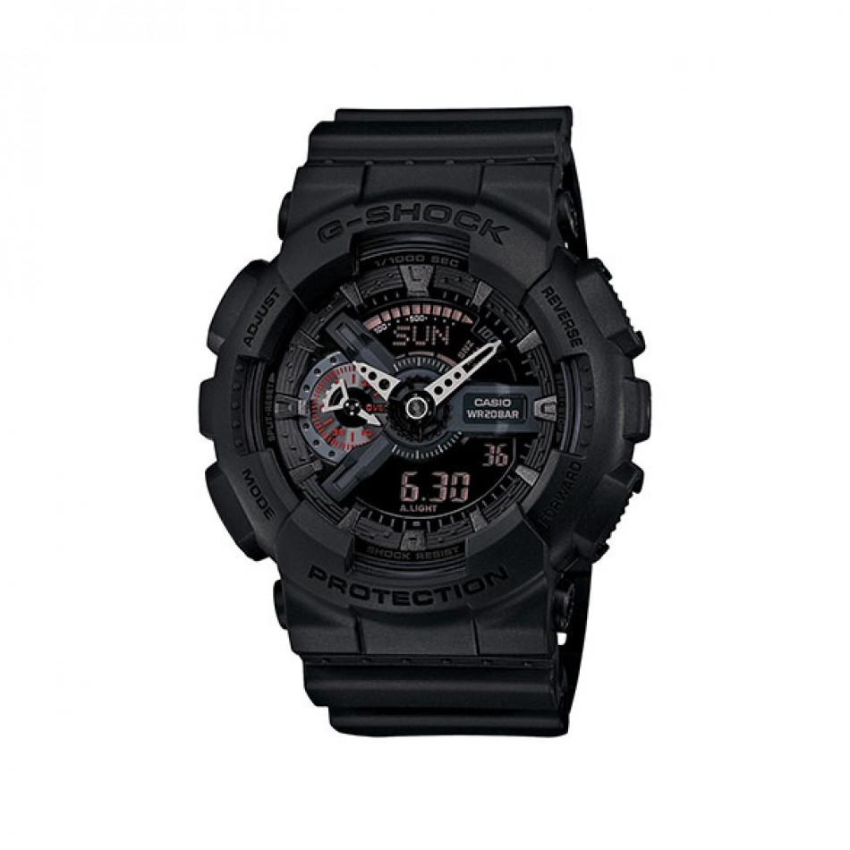 Мъжки спортен часовник Casio G-SHOCK черен с таймер за обратно броене GA110MB1AER