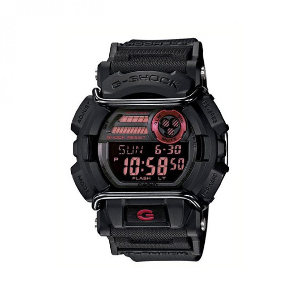 Мъжки спортен часовник Casio G-SHOCK черен с LED осветление на дисплея GD4001ER