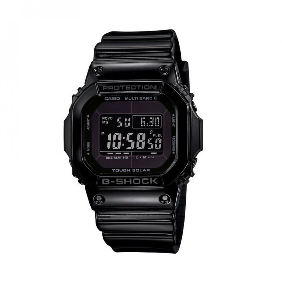 Мъжки часовник Casio G-SHOCK черен с правоъгълен дисплей GWM5610BB1ER