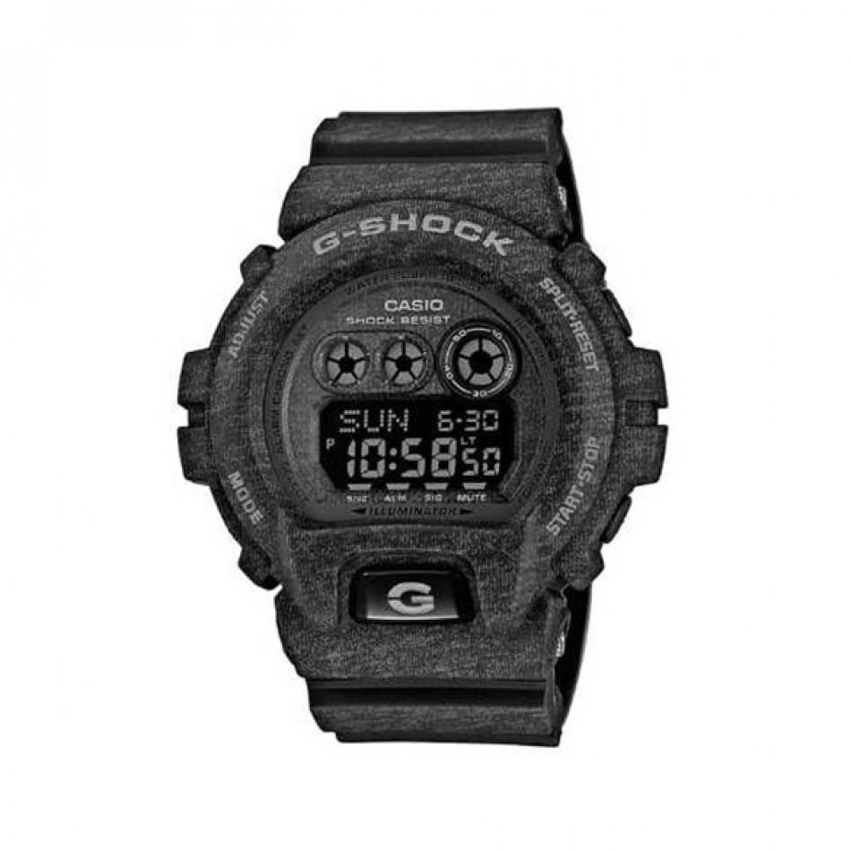 Мъжки спортен часовник Casio G-SHOCK тъмно сив със захабен ефект GDX6900HT1ER