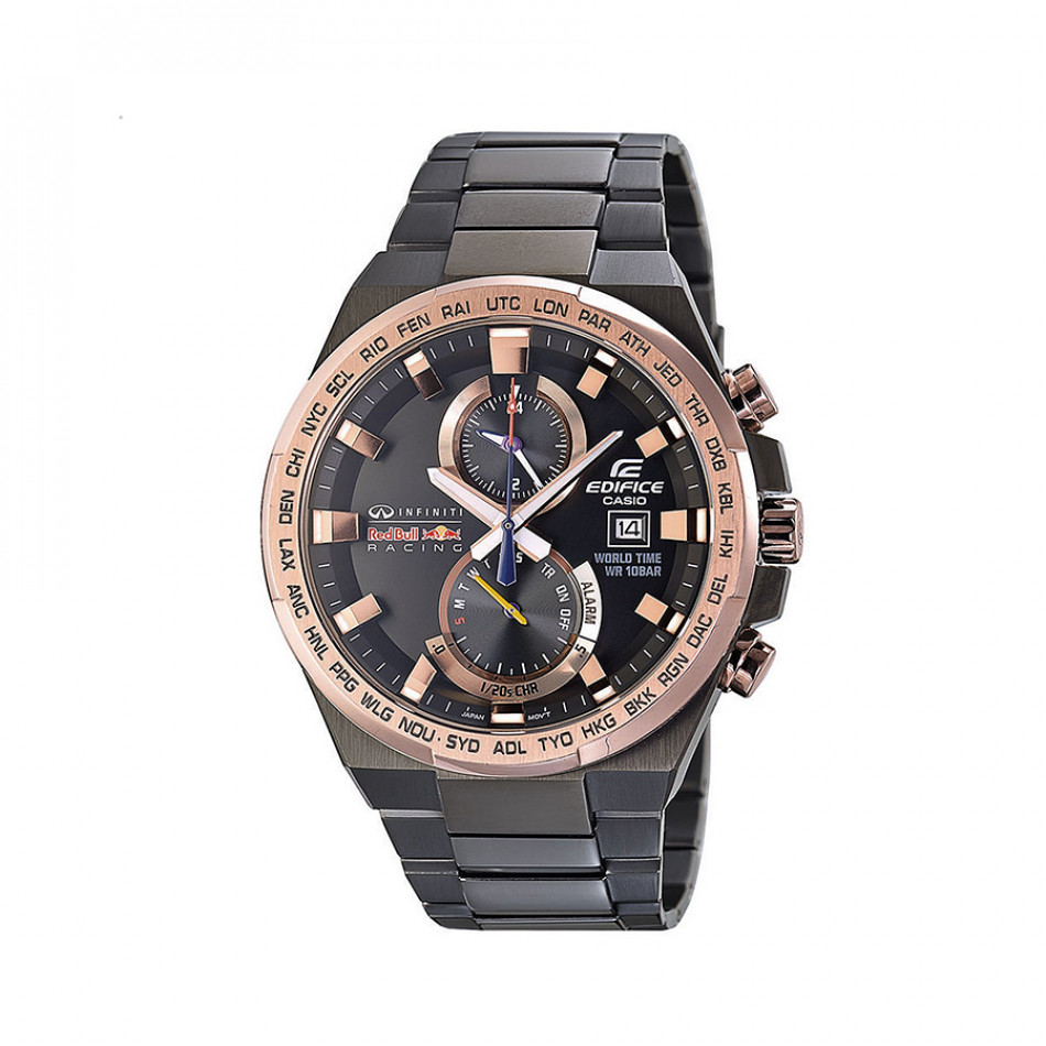 Мъжки часовник Casio Edifice черен браслет Infiniti Red Bull Racing EFR542RBM1AER