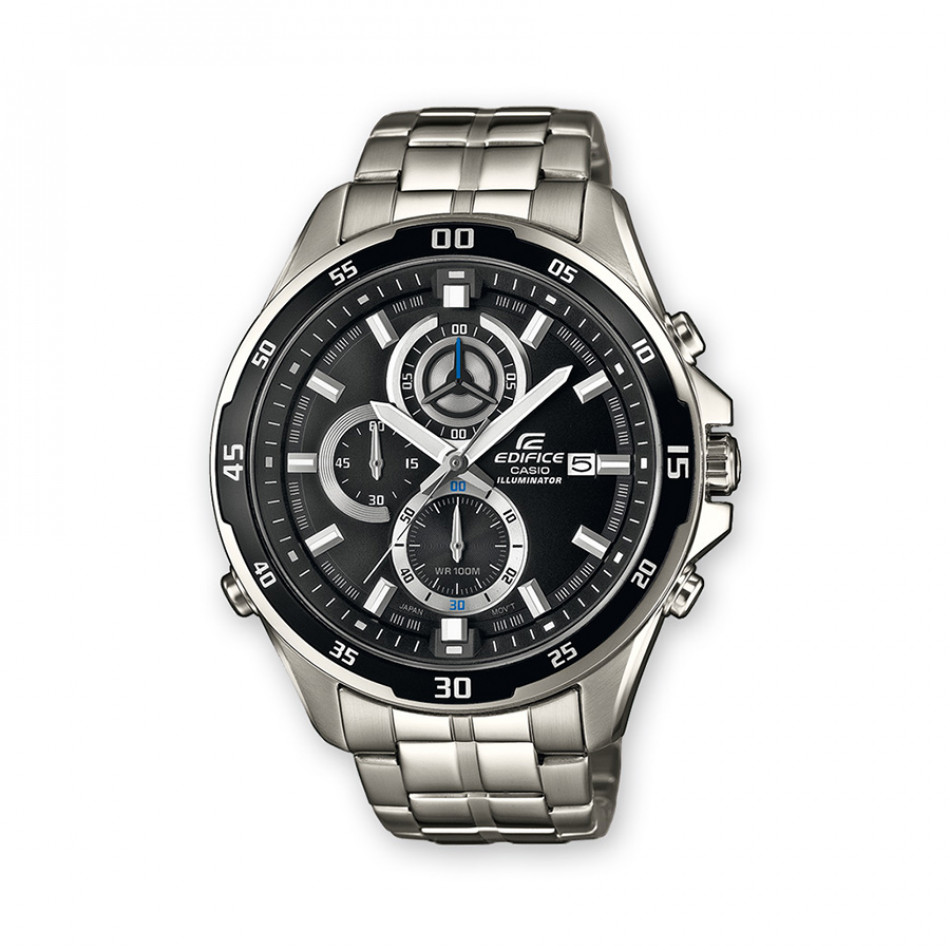 Мъжки часовник Casio Edifice сребрист браслет със супер илюминатор EFR547D1AVUEF