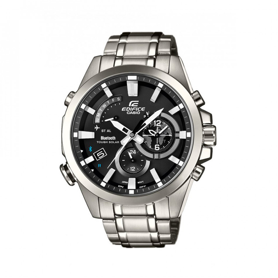 Мъжки часовник Casio Edifice сребрист браслет с индикатор за e-mail EQB510D1AER