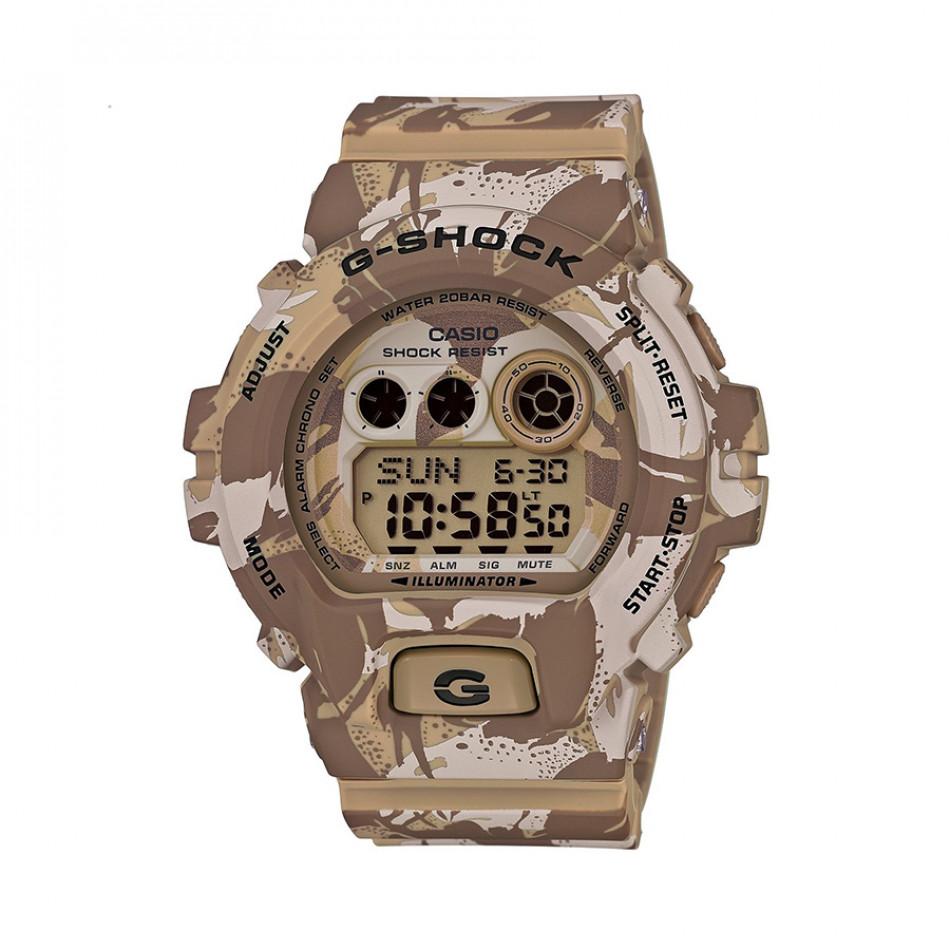 Мъжки спортен часовник Casio G-SHOCK бежов камуфлаж GDX6900MC5ER