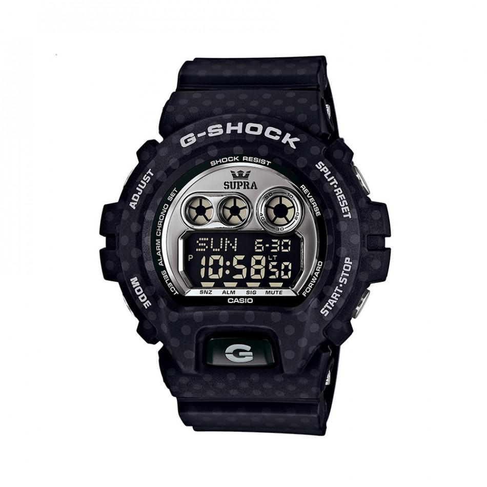 Мъжки спортен часовник Casio G-SHOCK тъмно син с малки сиви точки GDX6900SP1ER