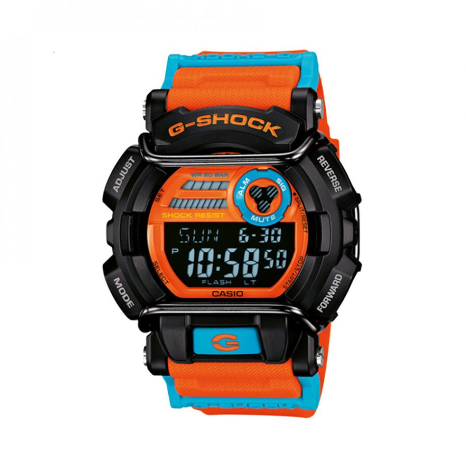 Мъжки спортен часовник Casio G-SHOCK оранжево-син GD400DN4ER