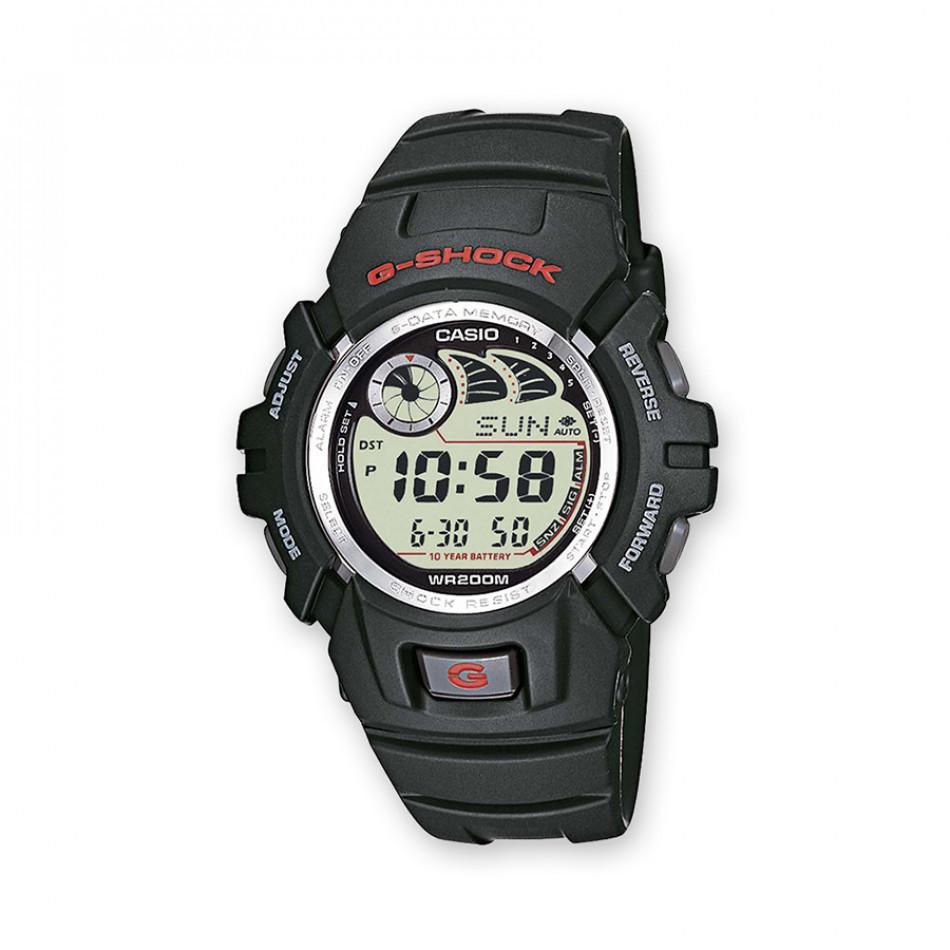 Мъжки спортен часовник Casio G-SHOCK черен със запаметяване на уеб сайтове G2900F1VER