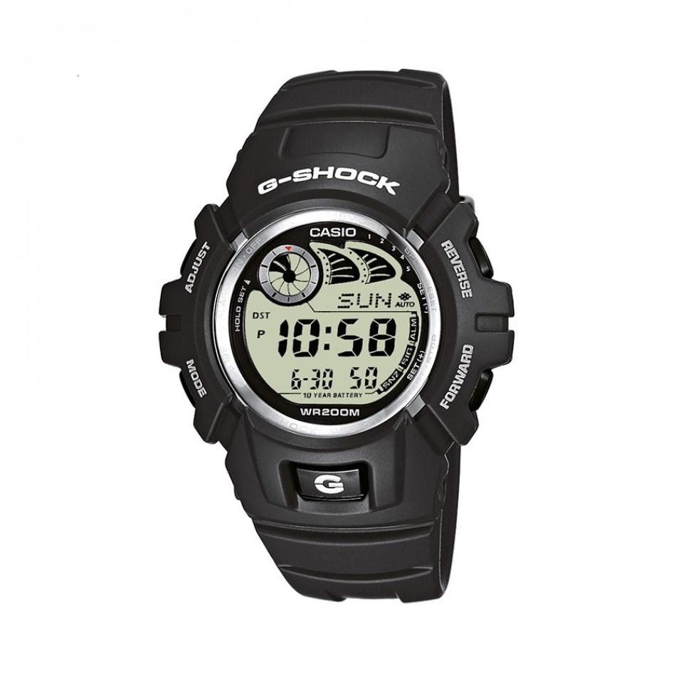 Мъжки спортен часовник Casio G-SHOCK сив с автоматичен календар G2900F8VER