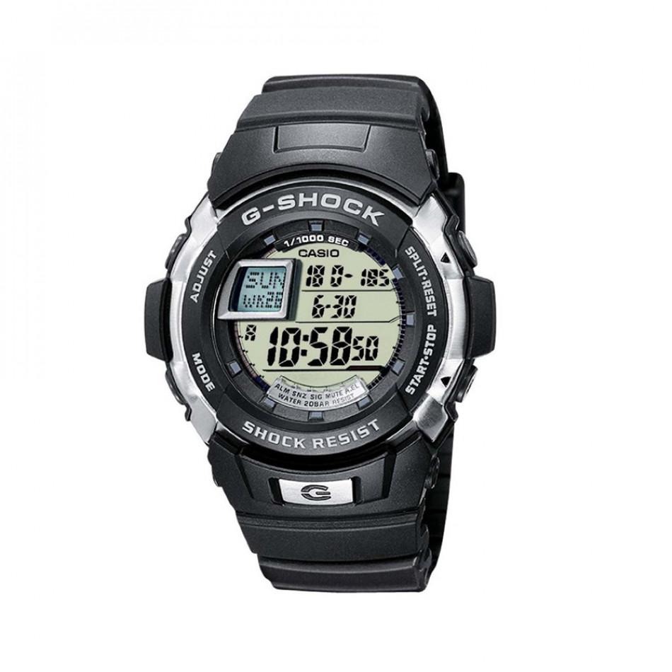 Мъжки часовник Casio G-SHOCK черен с 2 отделни таймера G77001ER