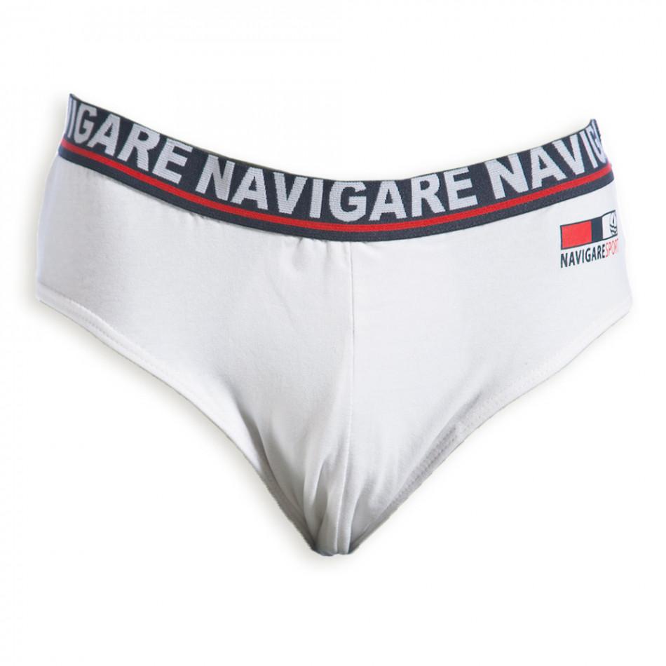 Мъжки слипове Navigare в бяло 324-1