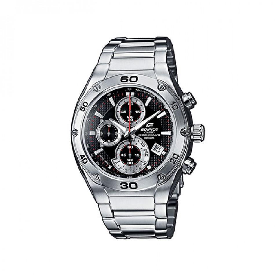 Мъжки часовник Casio Edifice сребрист браслет от стомана EF517D1AVEF