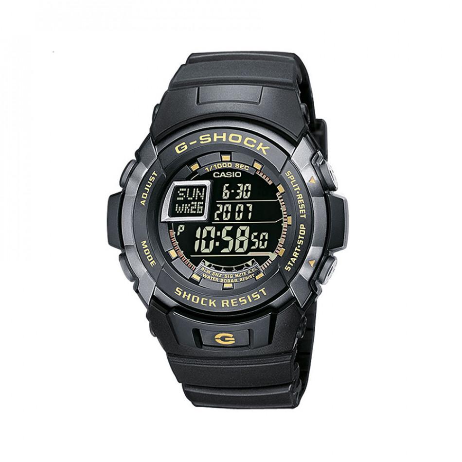 Мъжки спортен часовник Casio G-SHOCK черен с жълти надписи G77101ER