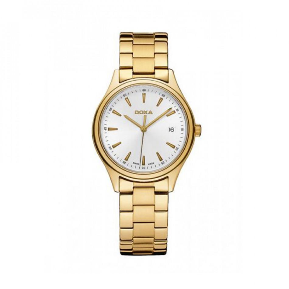 Мъжки часовник DOXA Tradition златист браслет 2113002111