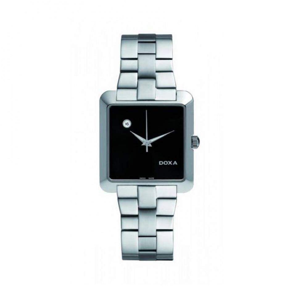 Мъжки часовник DOXA Grafic сребрист браслет с автоматична дата 3501010110