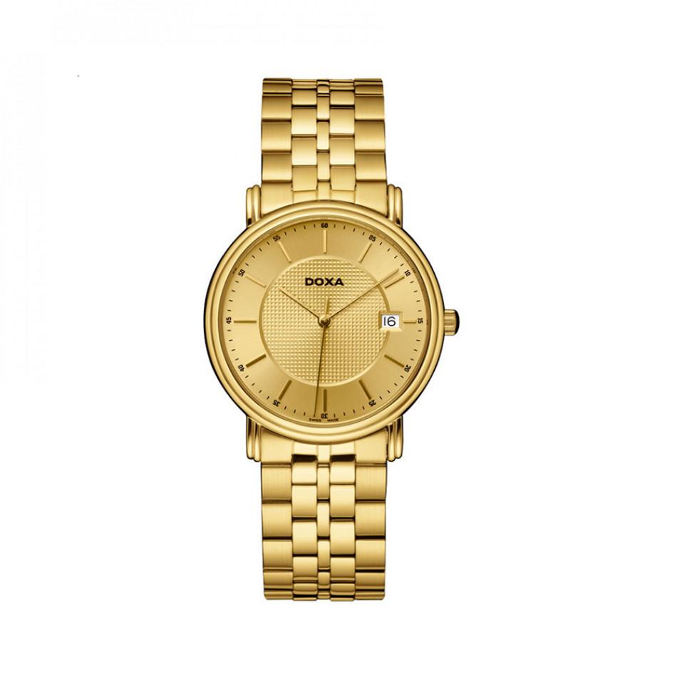 Мъжки часовник DOXA Royal изцяло златист 2213030111