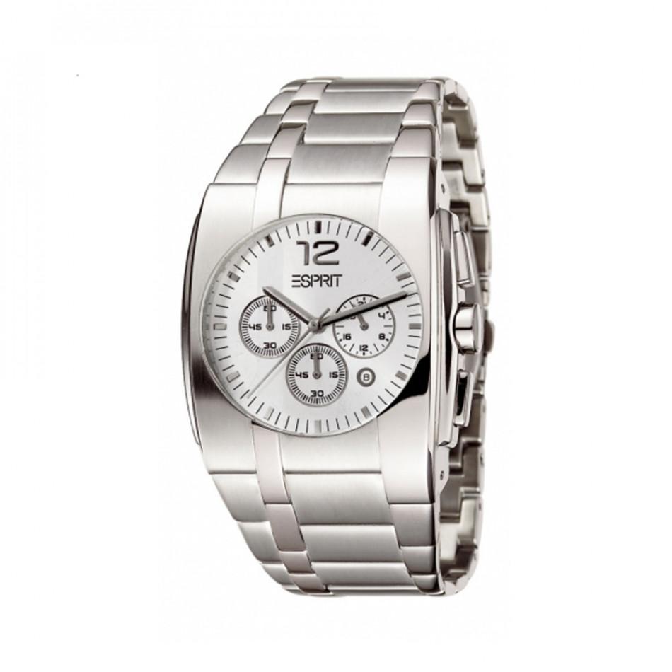 Мъжки часовник Esprit сребрист браслет с автоматична дата es101061001