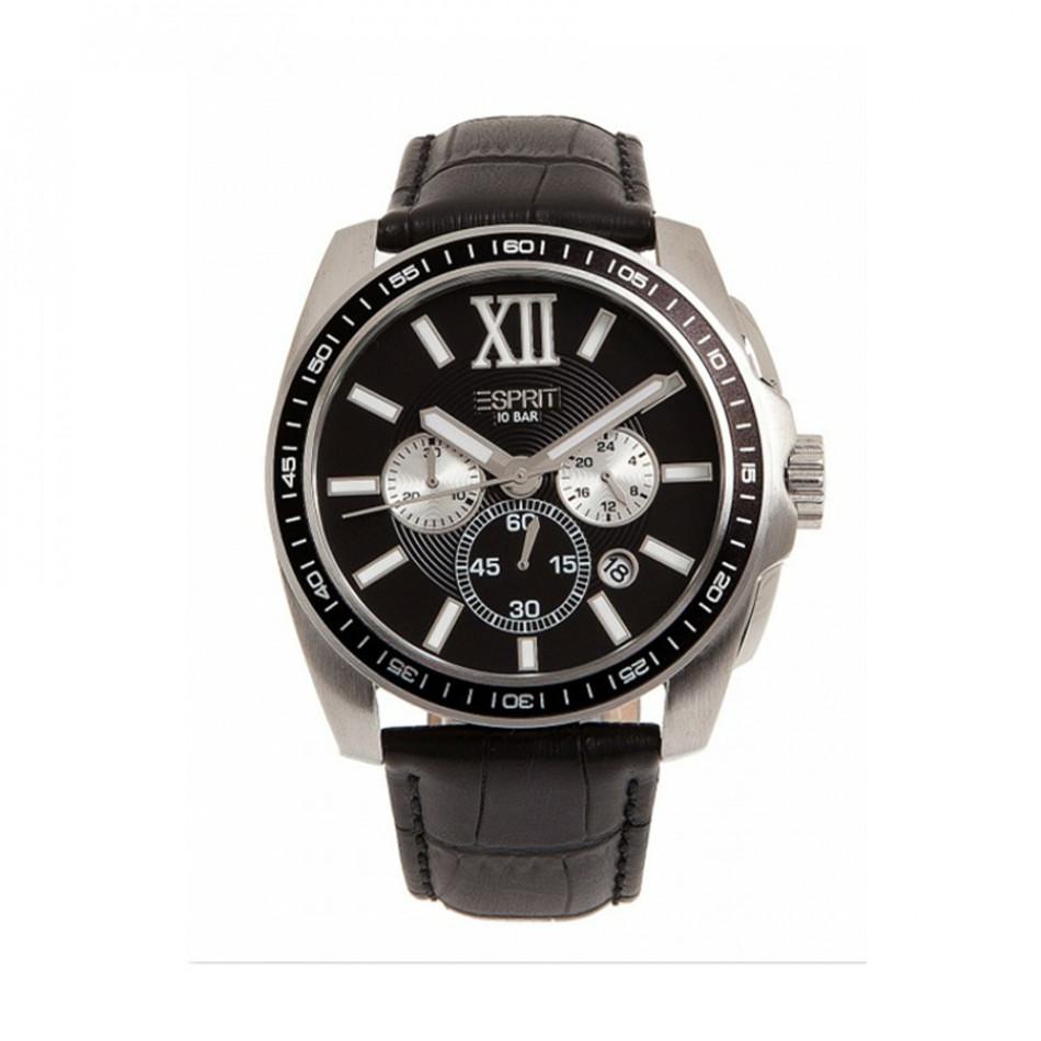 Мъжки часовник Esprit с каишка от естествена кожа es103591001